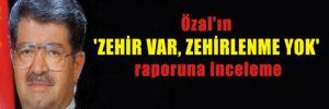Özal'ın 'zehir var, zehirlenme yok' raporuna inceleme