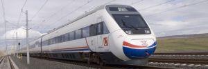 Ankara'da Yüksek Hızlı Tren kılavuz trenle çarpıştı!