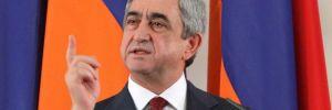 Ermenistan Başbakanı Sarkisyan istifa etti!