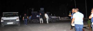 Osmaniye'de polis aracına saldırı!