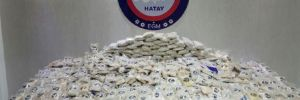 601 bin uyuşturucu hap ele geçirildi