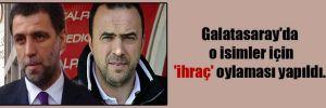 Galatasaray'da o isimler için 'ihraç' oylaması yapıldı