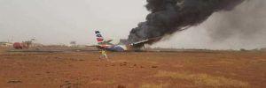 Sudan'da uçak kazası!