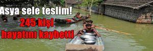 Asya sele teslim! 245 kişi hayatını kaybetti