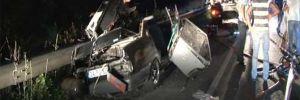 Beykoz'da korkunç kaza