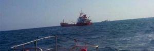 Kuru yük gemisinde tehlike dolu anlar