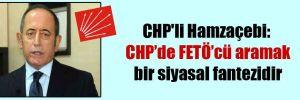 CHP'li Hamzaçebi: CHP'de FETÖ'cü aramak bir siyasal fantezidir