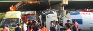 İstanbul'da dehşet veren kaza!