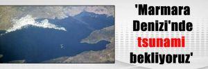 'Marmara Denizi'nde tsunami bekliyoruz'