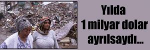 Yılda 1 milyar dolar ayrılsaydı…