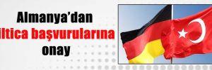 Almanya'dan iltica başvurularına onay