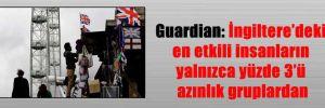 Guardian: İngiltere'deki en etkili insanların yalnızca yüzde 3'ü azınlık gruplardan