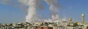 'Suriye'de rejim uçakları hastane ve okulu vurdu' iddiası