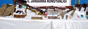 Bingöl'de PKK'ya ait silah ve cephane ele geçirildi