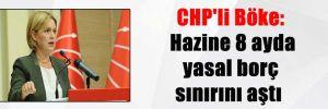 CHP'li Böke: Hazine 8 ayda yasal borç sınırını aştı