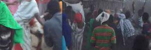 Mülteci kampında yürek burkan görüntü