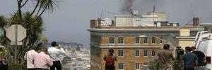 Zaharova: San Fransisco'daki Rus konsolosluğundan çıkan siyah dumanlar koruma amaçlı