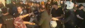 Protestoculara polis müdahalesi