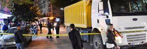 Hafriyat kamyonunun çarptığı kadın öldü