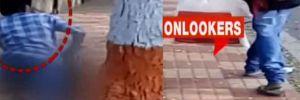 Hindistan'da iğrenç olay!.. Kalabalık bir caddenin kaldırımında güpegündüz!..