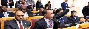 Uluslararası toplantıda İsrail heyetine şok