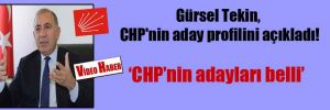 Gürsel Tekin, CHP'nin aday profilini açıkladı!