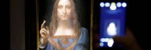 Leonardo da Vinci'nin 'Dünyanın Kurtarıcısı' tablosu 450 milyon dolarlık rekor fiyata satıldı