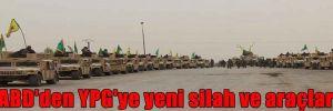 ABD'den YPG'ye yeni silah ve araçlar