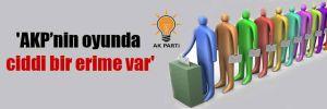 'AKP'nin oyunda ciddi bir erime var'