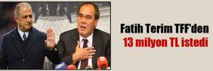 Fatih Terim TFF'den 13 milyon TL istedi