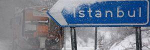 İstanbul dikkat kar geliyor…