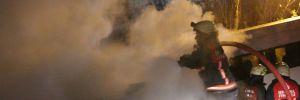 Kağıthane'de çıkan yangın korku ve paniğe neden oldu