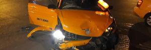Başkent'te trafik kazası! 2 yaralı