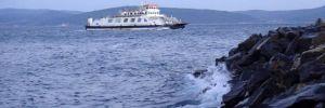Çanakkale Boğazı'nda gemi geçişlerine fırtına engeli