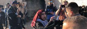 Kudüs Şam Kapısı'nda İsrail polisi göstericilere müdahale etti