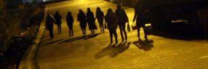 Bingöl'de 2'nci öğretimin kız öğrencilerinin ulaşım tepkisi