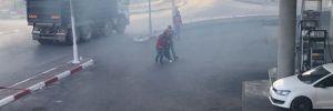 Ramallah'ta göstericilere gaz bombasıyla saldırıldı