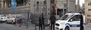 Taksim'deki Almanya Konsolosluğu'nda alarm