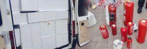 Patlayıcı dolu minibüsün fotoğrafları ortaya çıktı