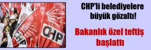 CHP'li belediyelere büyük gözaltı!