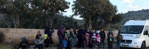 Çanakkale'de 101 kaçak drone'la tespit edilerek yakalandı