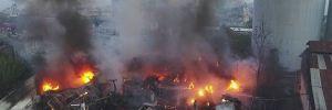 Adana'da korkutan yangını!