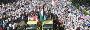 Endonezya'da binlerce gösterici Kudüs kararını protesto için sokaklarda