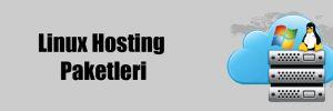 Linux Hosting Paketleri