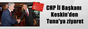 CHP İl Başkanı Keskin'den Tuna'ya ziyaret