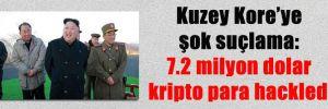 Kuzey Kore'ye şok suçlama: 7.2 milyon dolar kripto para hackledi