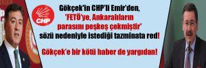 Gökçek'in CHP'li Emir'den, 'FETÖ'ye, Ankaralıların parasını peşkeş çekmiştir' sözü nedeniyle istediği tazminata red!