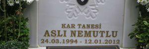 Aslı Nemutlu mezarı başında anıldı