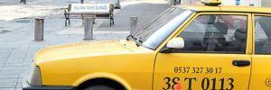 İlginç taksi durağı
