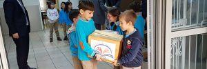 Öğrencilerden, Diyarbakır'daki arkadaşlarına kırtasiye desteği